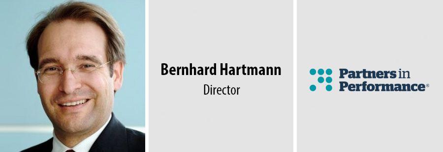 Bernhard Hartmann, Director, Partners in Performance