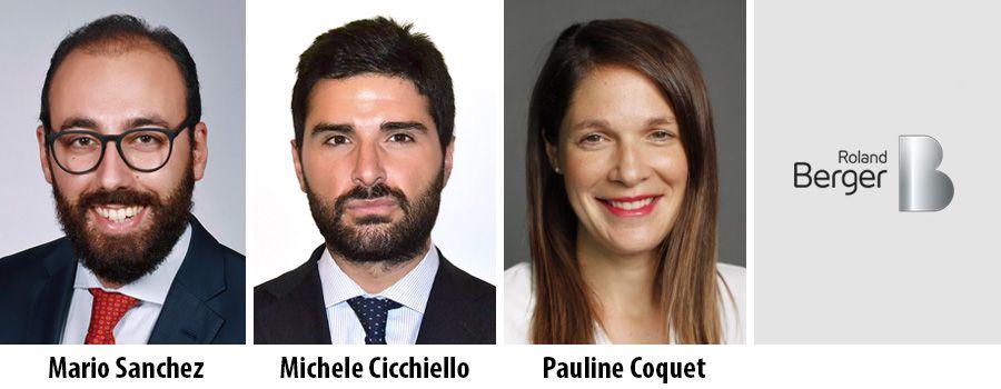 Mario Sanchez, Michele Cicchiello and Pauline Coquet - Roland Berger