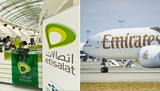 Etisalat and Emirates named as most valuable brands in the Middle East