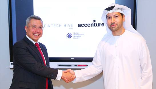 Dubai's IFC and Accenture to collaborate on world-leading FinTech hub