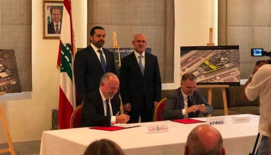 Lebanon signs consulting contracts for initial CEDRE projects