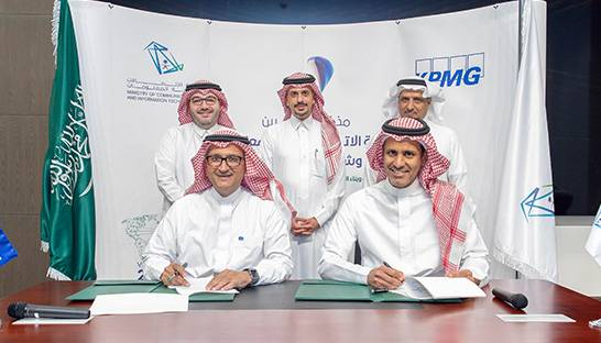 KPMG signs MoU with Saudi ICT ministry to establish Insights centre