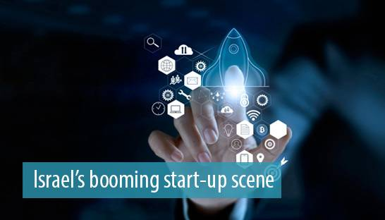 Five reasons why Israel has a booming start-up and R&D landscape