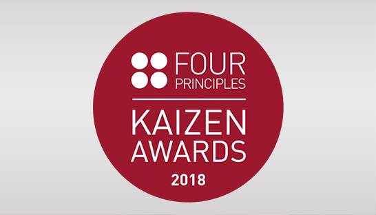 Four Principles Kaizen Awards to be announced in under a fortnight