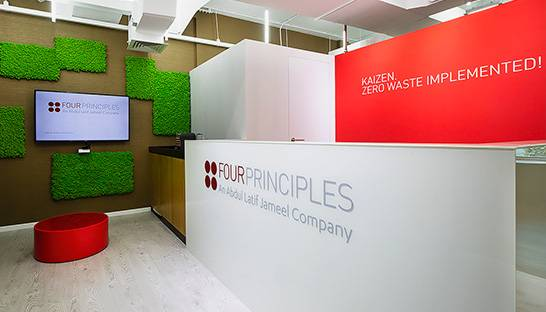 Lean specialist Four Principles takes up residence in renovated Dubai office