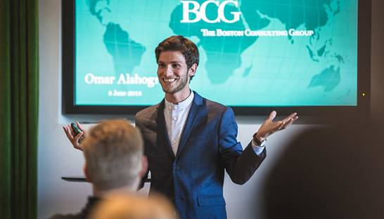 Omar Alshogre's remarkable journey to BCG via a Syrian prison