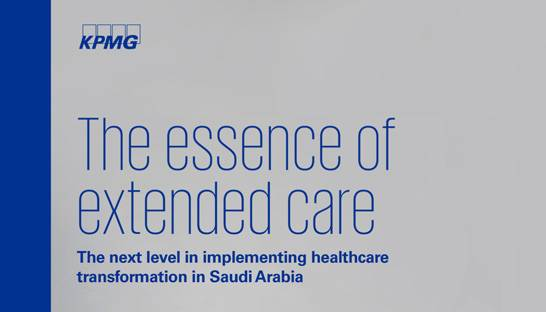 Out of hospital care services an opportunity for Saudi Arabia