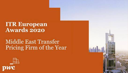 PwC's transfer pricing team and leader Mohamed Serokh lauded