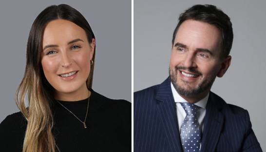 Emily Bates to work alongside Cooper Fitch's CEO Trefor Murphy